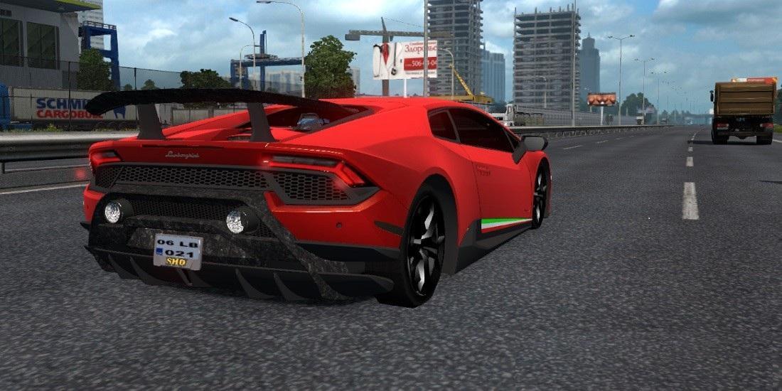 Lamborghini Huracan Sports Car v 1