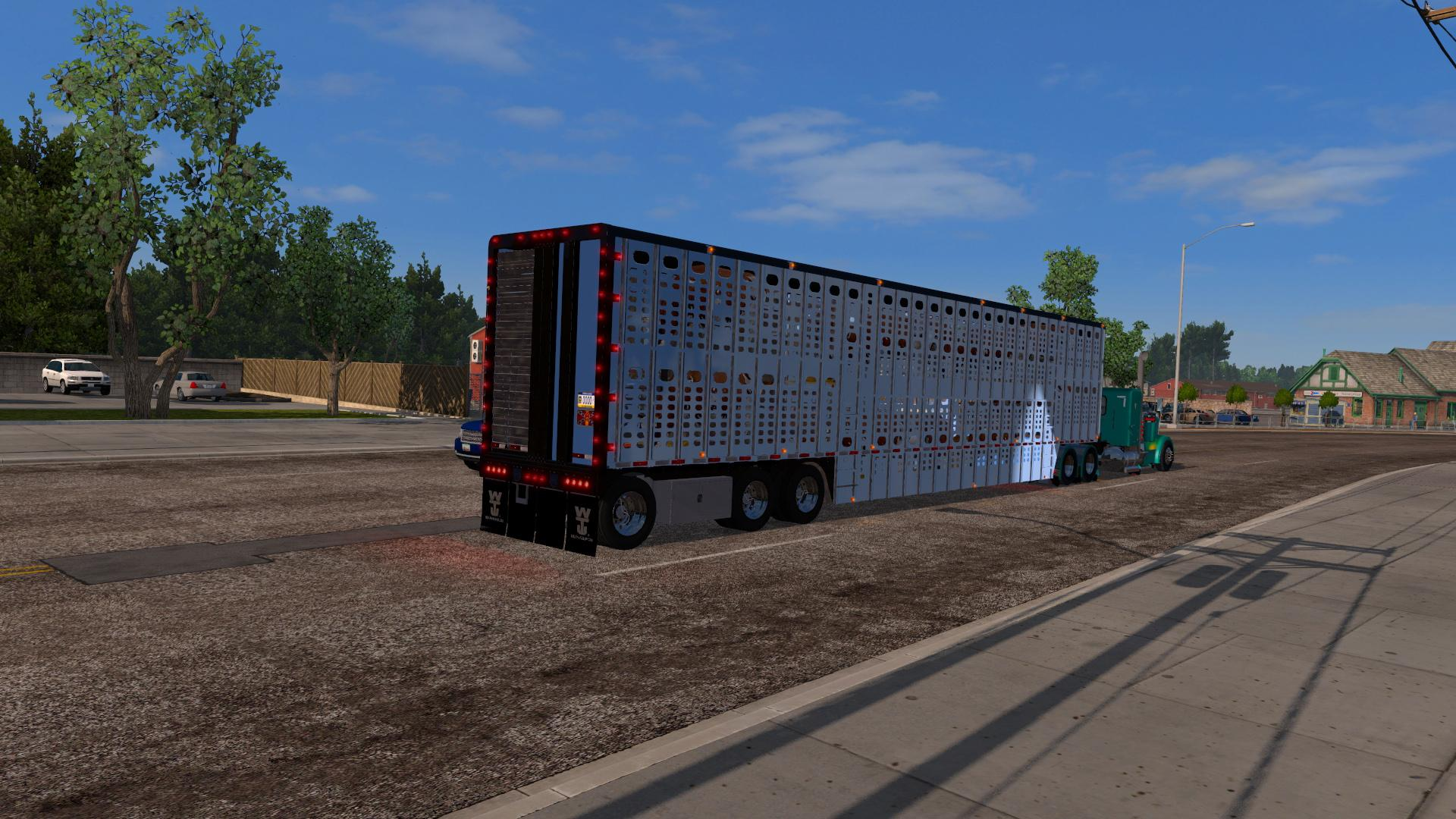 Livestock Trailer ATS 1.32