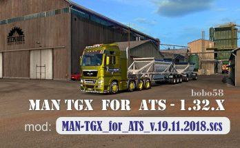 MAN TGX in ATS 1.32.x