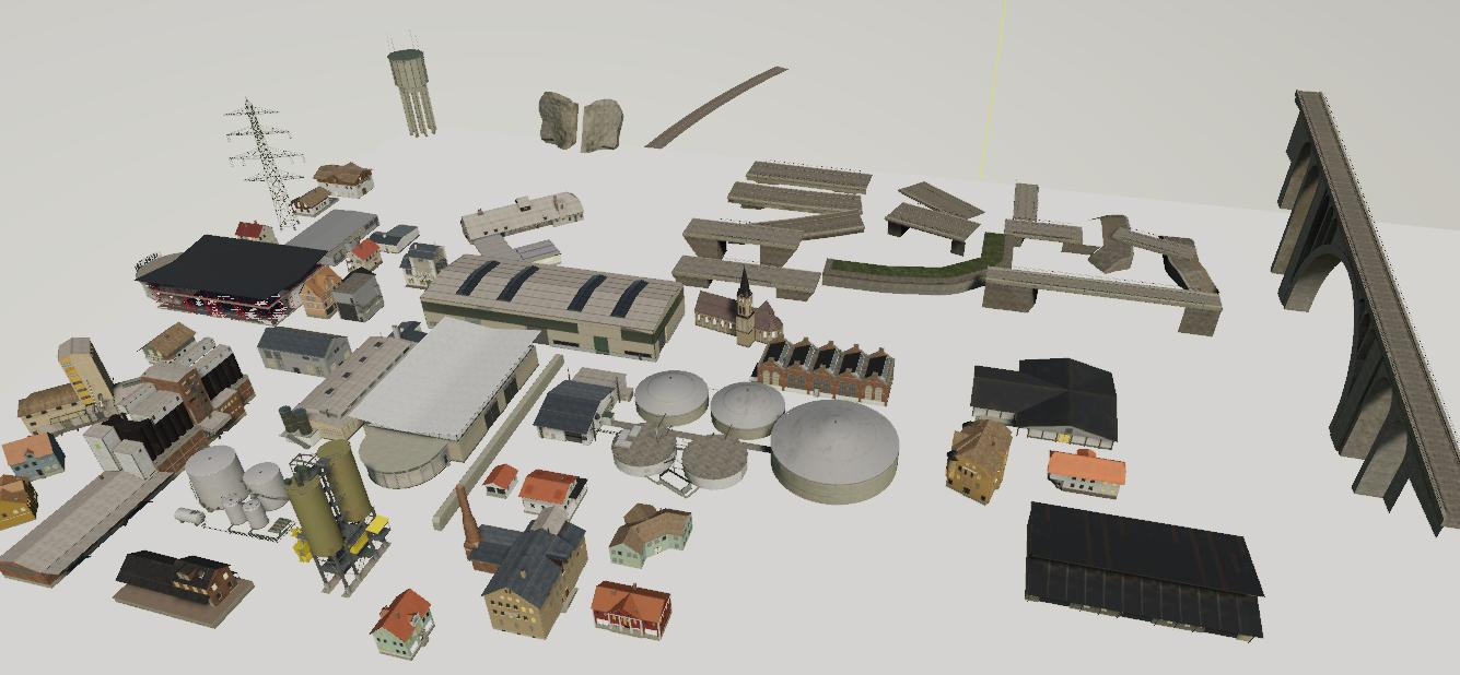 Map Template Objects v 1.0