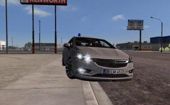 Opel Astra K ATS v 1.0