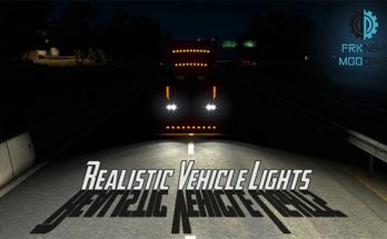Realistic Vehicle Lights for ATS v 3.1