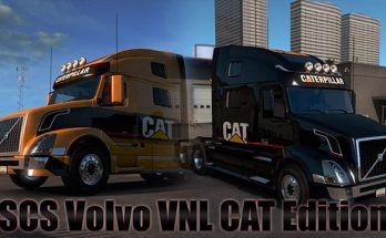 SCS Volvo VNL CAT Edition