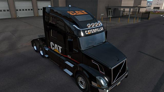 SCS Volvo VNL CAT Edition