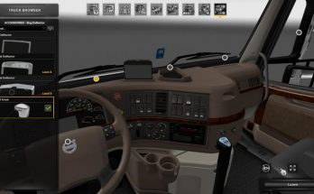 Shift Knob for Volvo VNL v 1.0