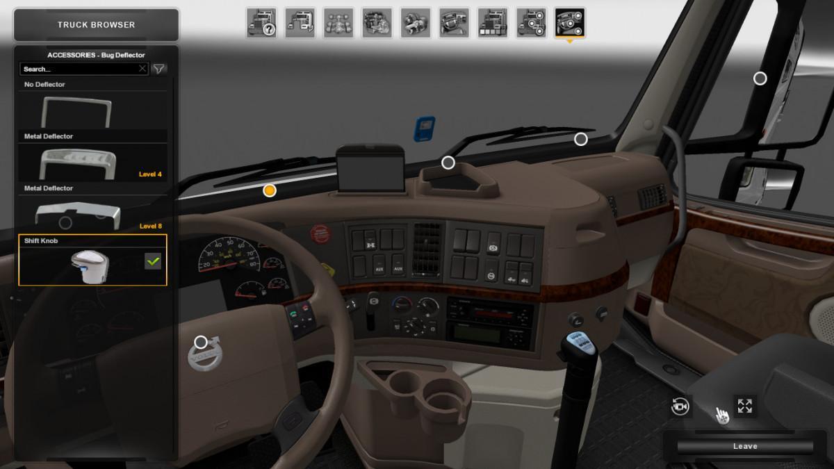 Shift Knob for Volvo VNL v 1.0