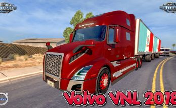 Volvo VNL 2018 + Interior v 1.15 Edit by galimim