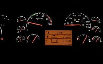 SCS Volvo VNL Dashboard fixed 1.32.x