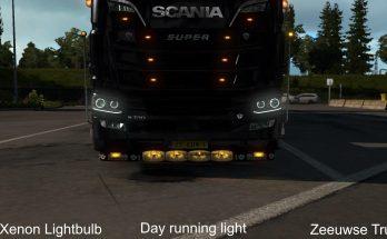 Accesoiries for Scania R/S 2016 1.33.x
