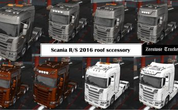 Airco and more for Scania 2016 1.33.x