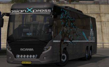Asian Xpress Skin for Scania Touring M_HUSNI v1.0