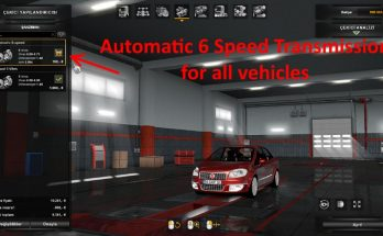 Automatic 6 Speed Transmission for All Vehicles 1.32.x