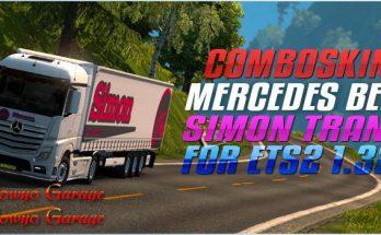 ComboSkin Simon Trans mp4 For ETS2 1.32
