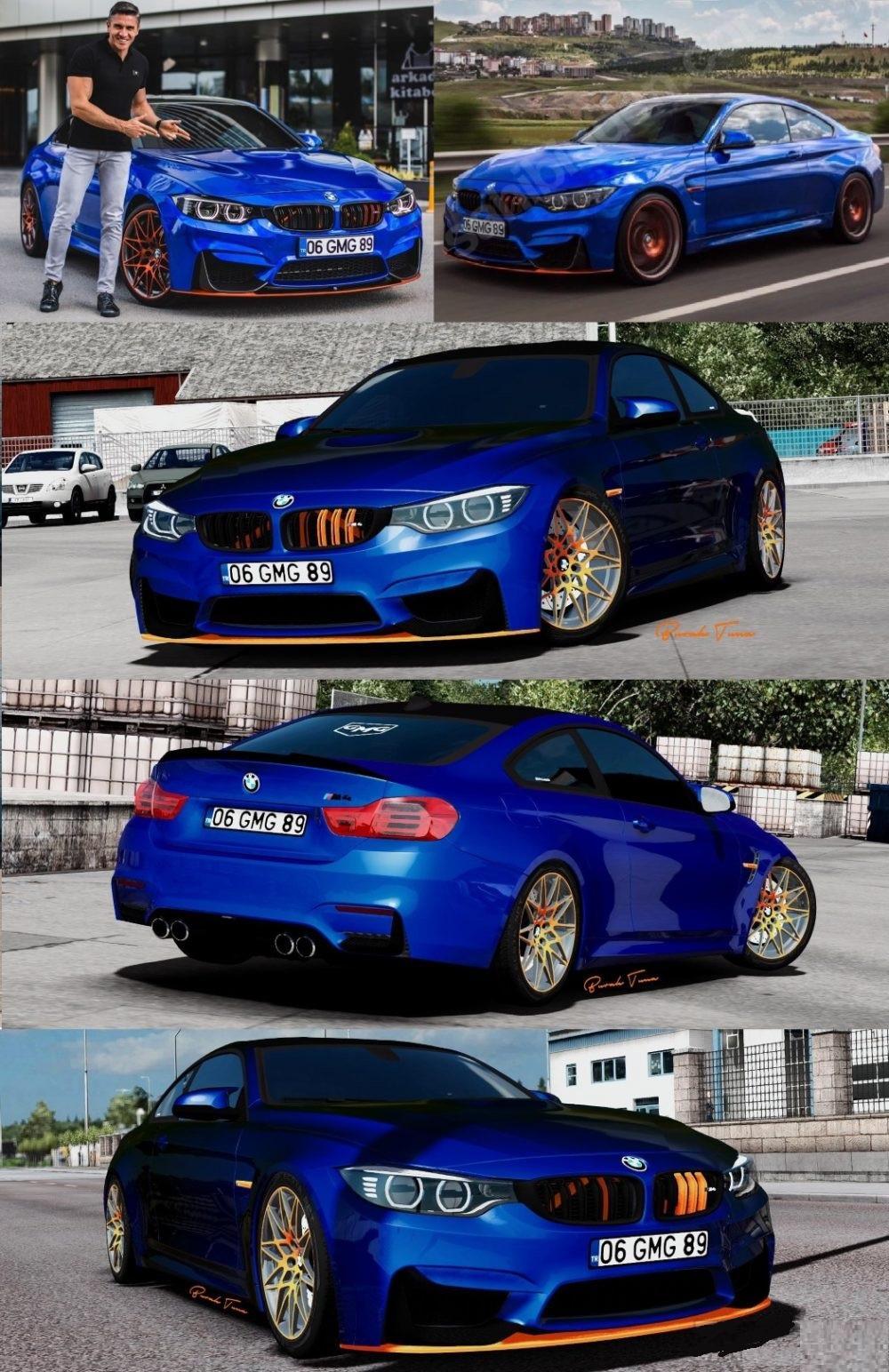 BMW M4 & M3 Pack 1.32.x