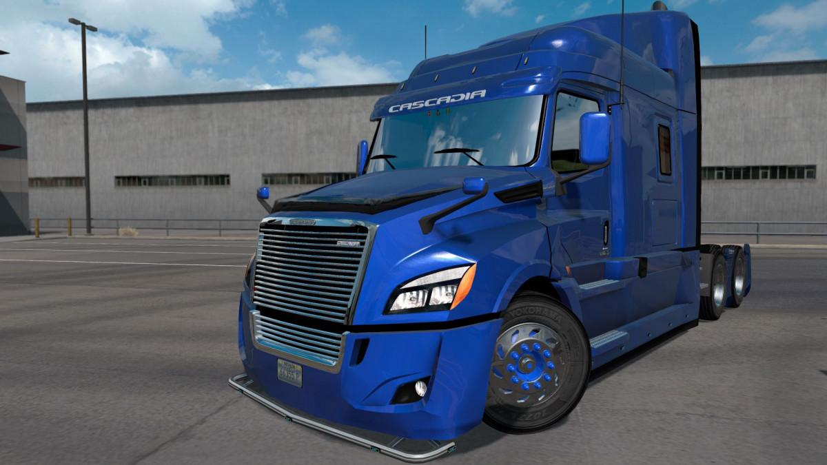 Freightliner Cascadia 2018 for ETS2 1.32.x