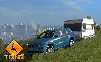 Jeep Grand Cherokee SRT8 + Trailer 1.33.x