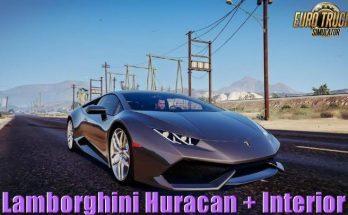 Lamborghini Huracan + Interior v2