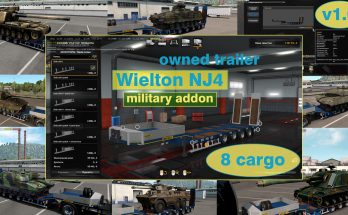 Military Addon for Ownable Trailer Wielton NJ4 v1.0