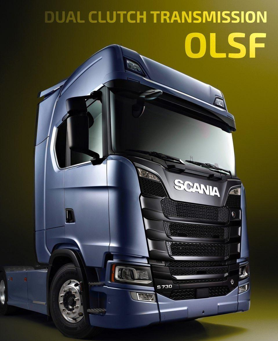 OLSF Dual Clutch Transmission Pack for Scania 2016 v1.0