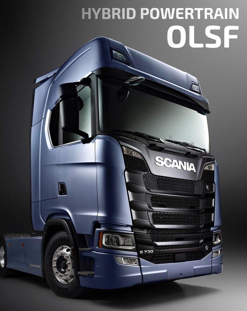 OLSF Hybrid Powertrain v2.0 for Scania S 2016