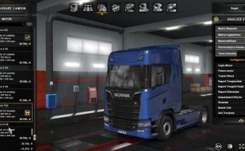 Real Engine and Transmission For Scania S by alexdedu