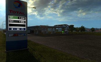 Realistic Big Fuel Stations 1.32.x