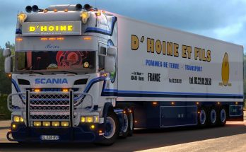 Scania D'Hoine & Trailer – 1.32.x