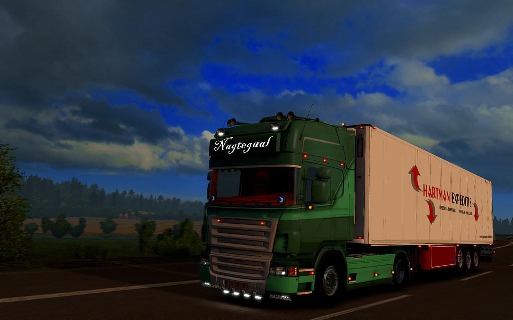 Scania Nagtegaal & Trailer – 1.32.x