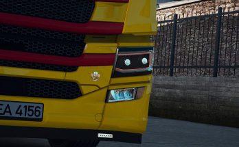 Scania NextGen R&S Custom Headlights v1.0