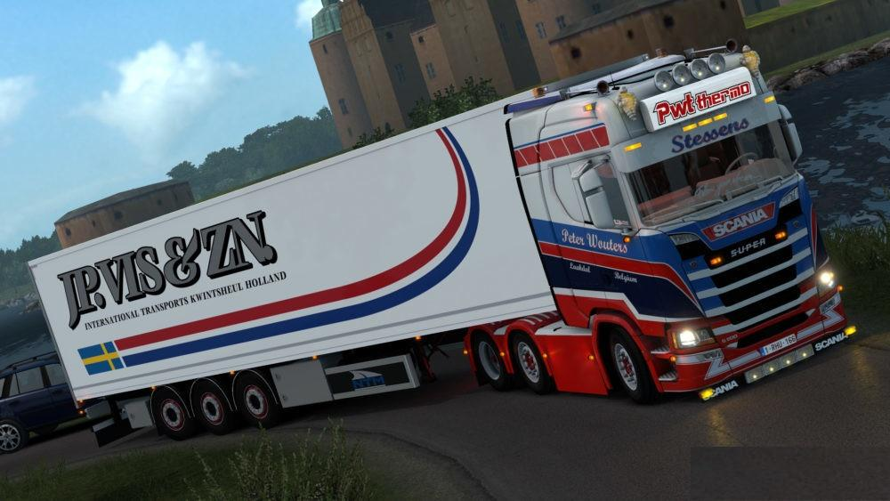 Scania PWT Thermo Stessens & Trailer – 1.32.x