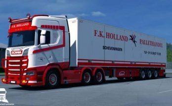 Scania S F.K. Holland Combo 1.32.x