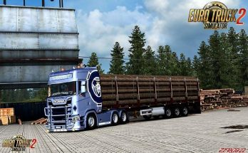 Scania S&R Light Blue Griffin Metallic v1.1