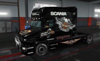 Scania T Harley Davidson skin 1.32