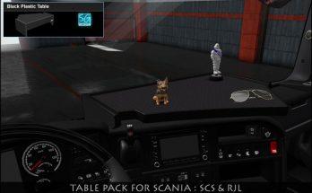 SCANIA TABLE PACK v1.0