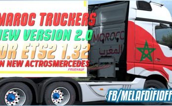 Skin Morocco Truckers For ETS2 1.33