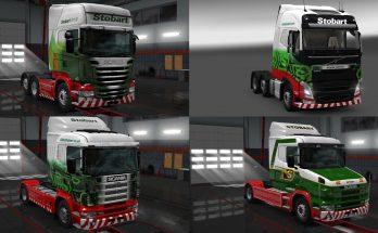Stobart Group Truck Skins v1.0