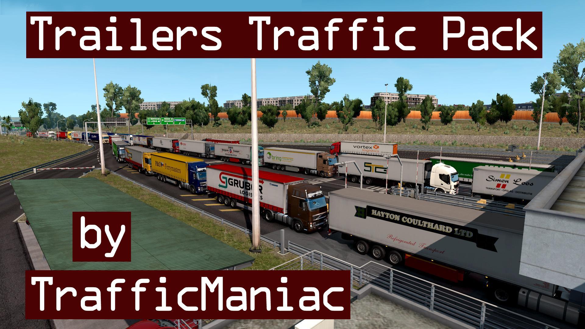 Trailers Traffic Pack by TrafficManiac v1.0