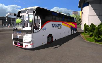 Volvo 9700 B9r indian official bus design and bus v2.0