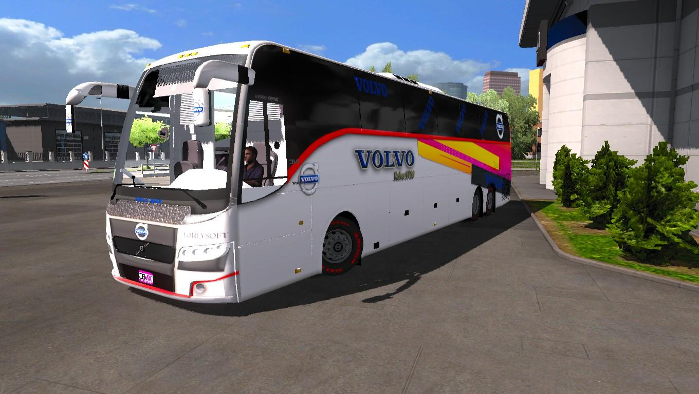 Volvo 9700 B9r indian official bus design and bus v 2 0