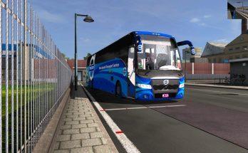 Volvo 9700 special transport service DBMX bus mods 4k skin v2.0