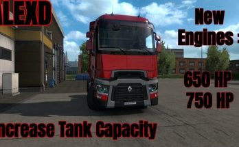 Renault Range T New Engines + Truck by alexdedu 1.33.x