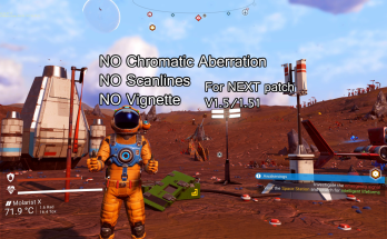 Chromatic Aberration, Scanline and Vignette Removal for NEXT