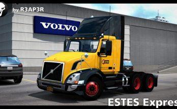 Estes Express Skin for SCS Volvo VNL 300 v 1.0