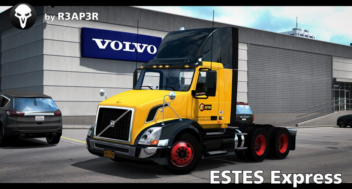 Estes Express Skin for SCS Volvo VNL 300 v 1.0