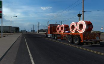 Flatbed ferbus owned ATS 1.33 mudflaps animations