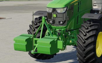 John Deere Double Weight v 1.0