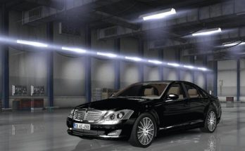 Mercedes Benz s350 4matic 2009 ATS v 1.0