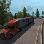 Multiple Trailers in Traffic ATS v 3.1
