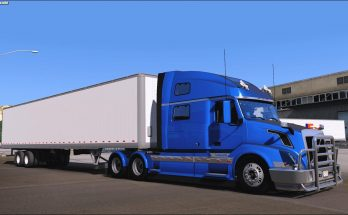 SCS Volvo VNL 780 Custom Parts and Upgrades v 0.1