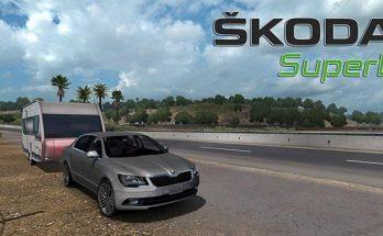 Skoda Superb for ATS v3.4 released 1.32.x-1.33.x